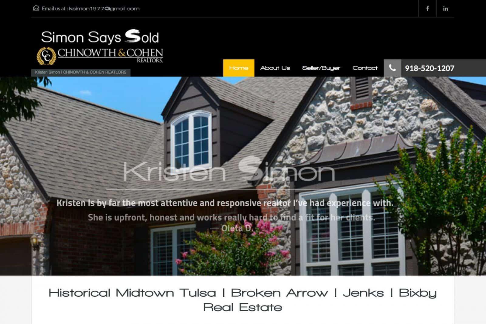 Tulsa Realtor Website