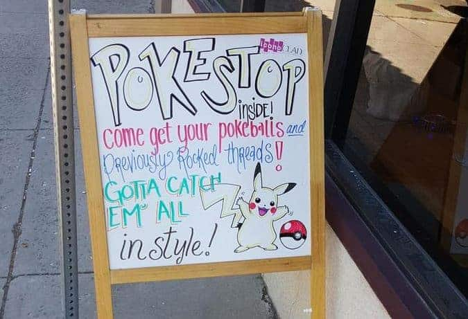 pokemon ad for business