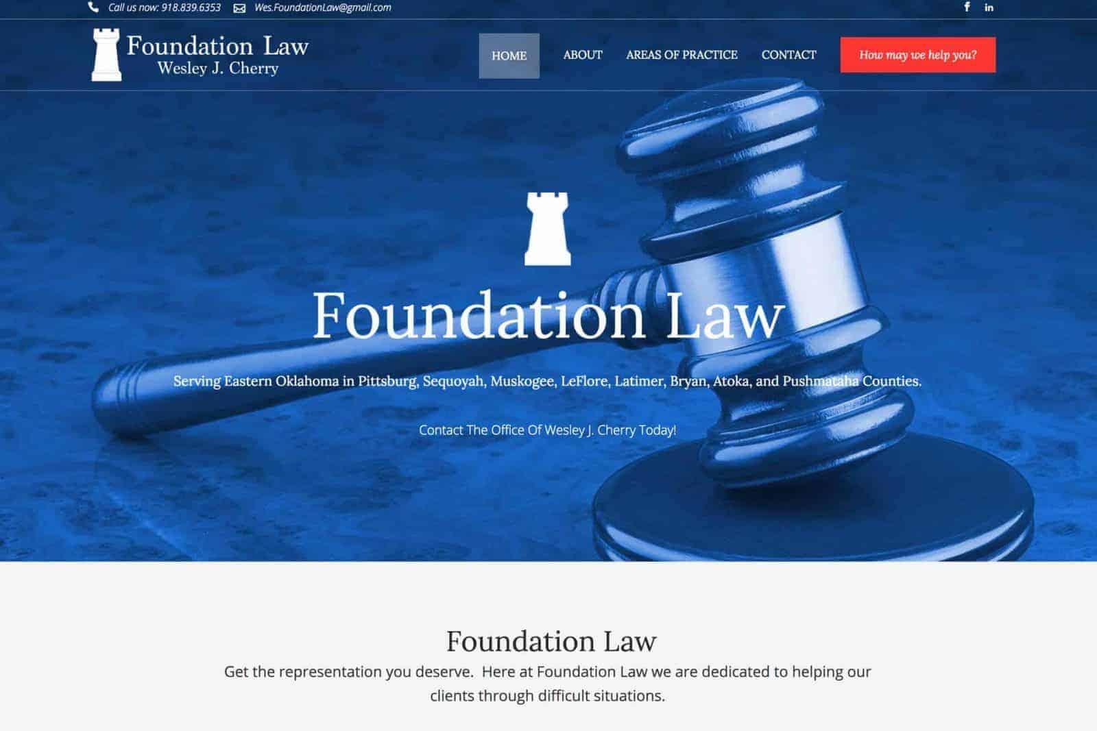 Lawyer Website