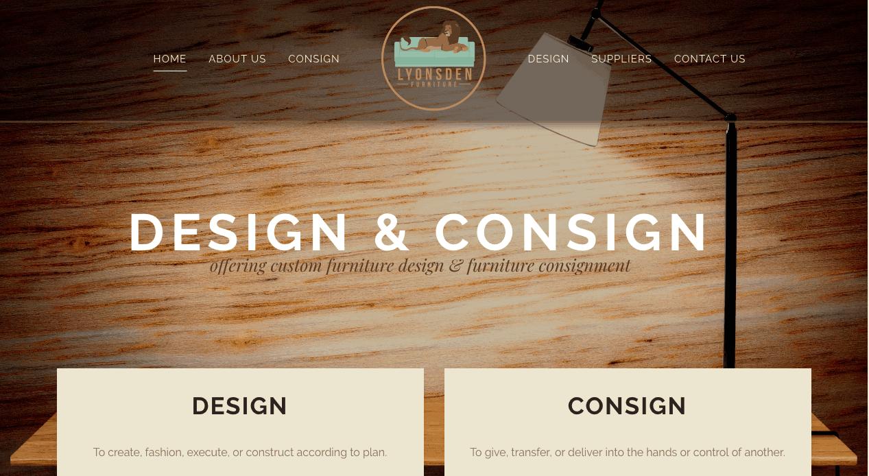 tulsa furniture website design