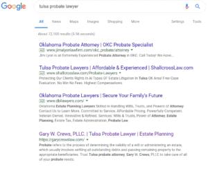 Tulsa Probate Lawyer