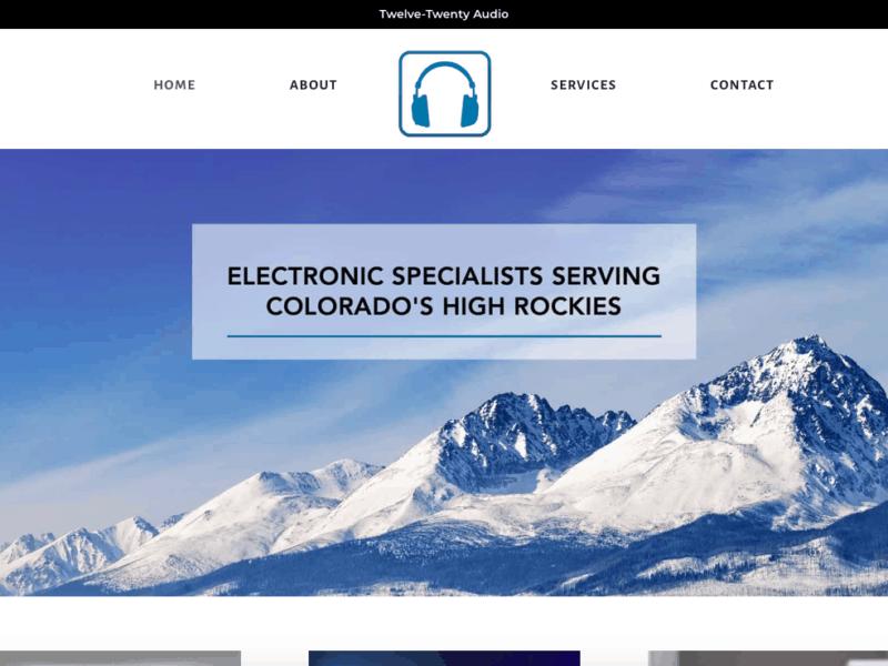 website design twelve-twenty
