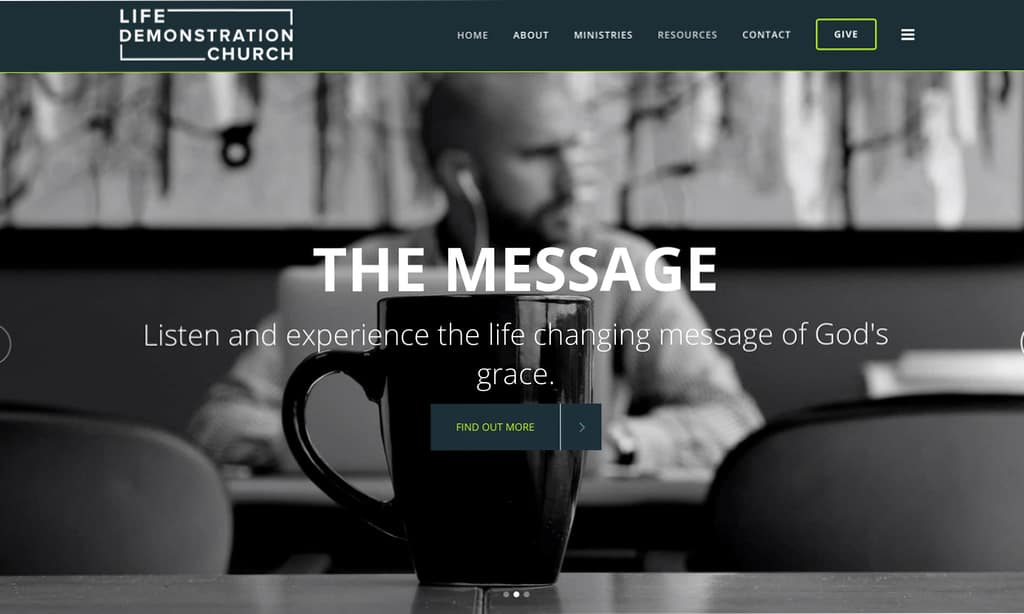 Tulsa Church Website Designer