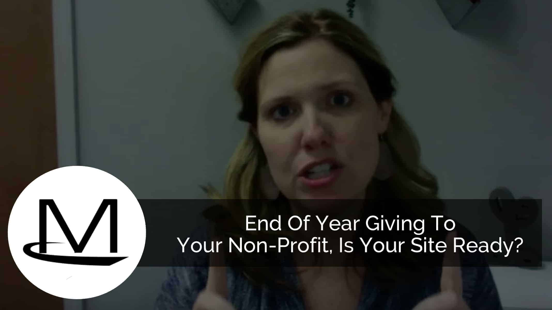 Non-Profit end of year giving