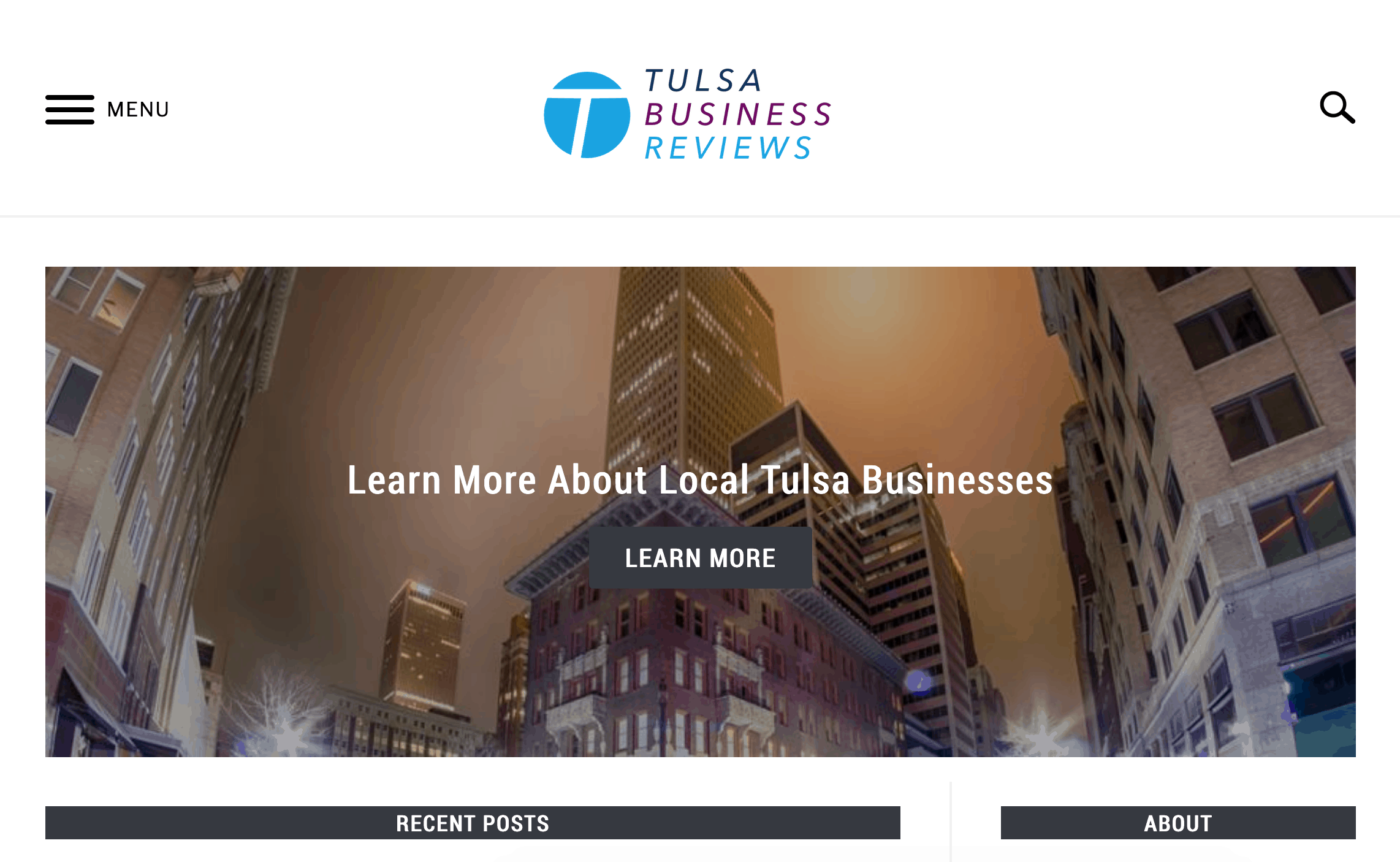 Tulsa Business Reviews Home Page
